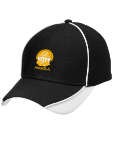 Angola Soccer Embroidered New Era Contrast Piped Performance Cap