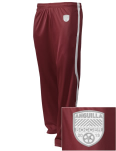 Anguilla Soccer Embroidered Holloway Men's Tricotex Warm Up Pants