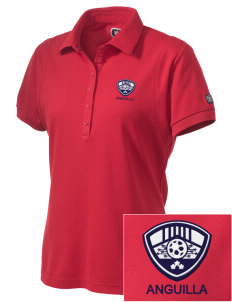 Anguilla Soccer Embroidered OGIO Women's Jewel Polo