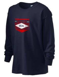 Anguilla Soccer Kid's 6.1 oz Long Sleeve Ultra Cotton T-Shirt