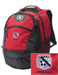 Anguilla Soccer Embroidered OGIO Rogue Backpack