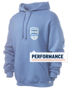 Argentina Soccer Russell Men's Dri-Power Hooded Sweatshirt