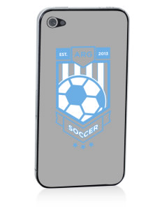 Argentina Soccer Apple iPhone 4/4S Skin