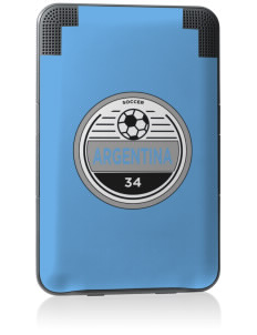 Argentina Soccer Kindle Keyboard 3G Skin