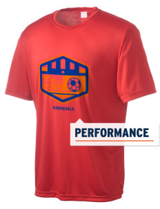 Armenia Soccer Men's Competitor Performance T-Shirt