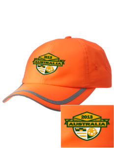 Australia Soccer  Embroidered Safety Cap