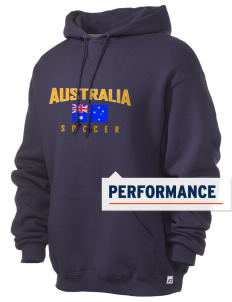 Australia Soccer Russell Men's Dri-Power Hooded Sweatshirt