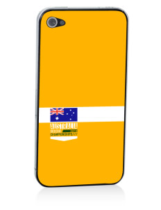 Australia Soccer Apple iPhone 4/4S Skin