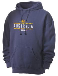 Australia Soccer Men's 80/20 Pigment Dyed Hooded Sweatshirt