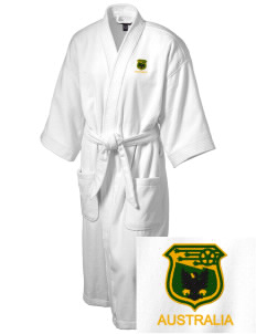 Australia Soccer Embroidered Terry Velour Robe