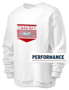 Austria Soccer  Russell Men's Dri-Power Crewneck Sweatshirt