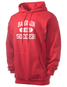 Bahrain Soccer Men's 7.8 oz Lightweight Hooded Sweatshirt