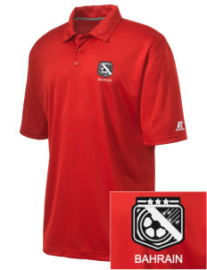 Bahrain Soccer Embroidered Russell Coaches Core Polo Shirt