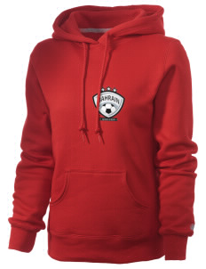 Bahrain Soccer Russell Women's Pro Cotton Fleece Hooded Sweatshirt