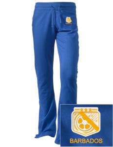 Barbados Soccer Embroidered Holloway Women's Axis Performance Sweatpants