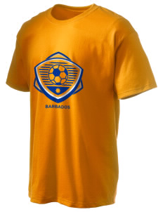 Barbados Soccer Hanes Men's 6 oz Tagless T-shirt