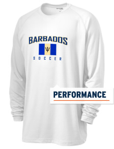 Barbados Soccer Men's Ultimate Performance Long Sleeve T-Shirt
