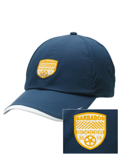 Barbados Soccer Embroidered Nike Dri-FIT Swoosh Perforated Cap