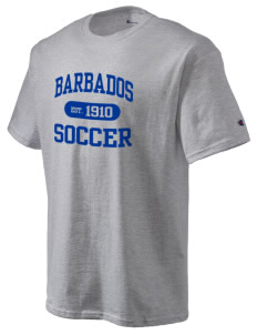 Barbados Soccer Champion Men's Tagless T-Shirt