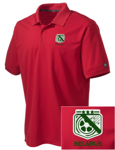 Belarus Soccer Embroidered OGIO Men's Caliber Polo