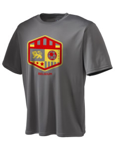 Belgium Soccer Champion Men's Wicking T-Shirt