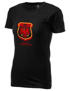 Belgium Soccer Alternative Women's Basic Crew T-Shirt