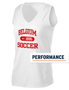 Belgium Soccer Women's Performance Fitness Tank