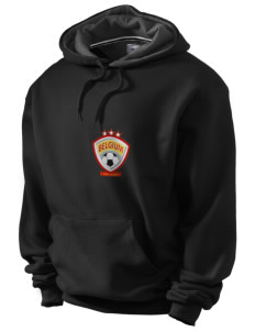 Belgium Soccer Champion Men's Hooded Sweatshirt