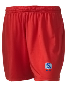 "Belize Soccer Embroidered Holloway Women's Performance Shorts, 5"" Inseam"