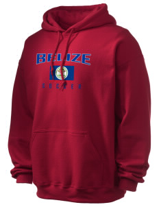 Belize Soccer Ultra Blend 50/50 Hooded Sweatshirt
