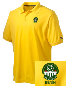 Benin Soccer Embroidered OGIO Men's Caliber Polo