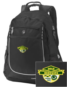 Benin Soccer Embroidered OGIO Carbon Backpack
