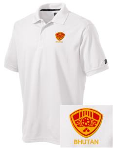 Bhutan Soccer Embroidered OGIO Men's Caliber Polo