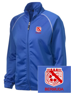 Bermuda Soccer Embroidered Holloway Women's Attitude Warmup Jacket