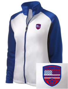 Bermuda Soccer Embroidered Holloway Women's Reaction Tri-Color Jacket