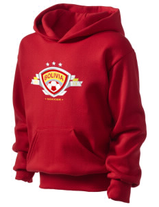 Bolivia Soccer Kid's Hooded Sweatshirt