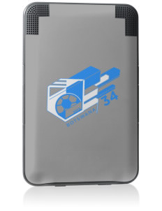 Botswana Soccer Kindle Keyboard 3G Skin