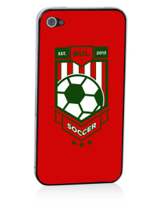 Bulgaria Soccer Apple iPhone 4/4S Skin