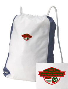 Burundi Soccer Embroidered Holloway Home and Away Cinch Bag