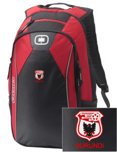 Burundi Soccer Embroidered OGIO Marshall Backpack