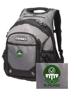 Burundi Soccer Embroidered OGIO Fugitive Backpack