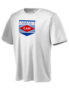 Cambodia Soccer Champion Men's Wicking T-Shirt