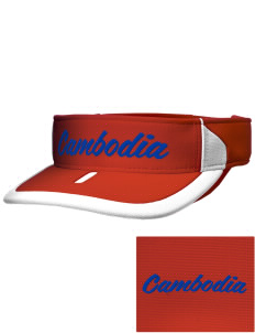 Cambodia Soccer Embroidered M2 Sideline Adjustable Visor