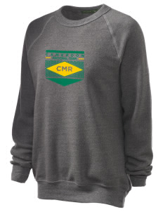 Cameroon Soccer Unisex Alternative Eco-Fleece Raglan Sweatshirt