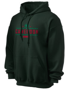 Cameroon Soccer Ultra Blend 50/50 Hooded Sweatshirt
