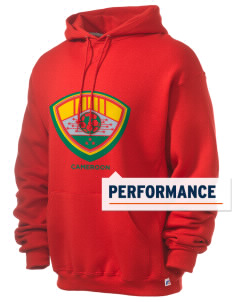Cameroon Soccer Russell Men's Dri-Power Hooded Sweatshirt