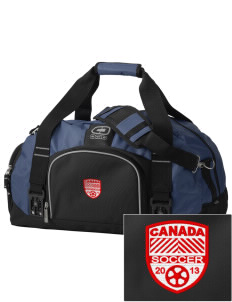 Canada Soccer  Embroidered OGIO Big Dome Duffel Bag