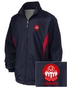 Canada Soccer Embroidered Holloway Men's Full-Zip Jacket