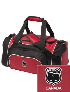 Canada Soccer Embroidered Holloway Duffel Bag