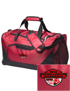 Canada Soccer Embroidered Holloway Chill Medium Duffel Bag